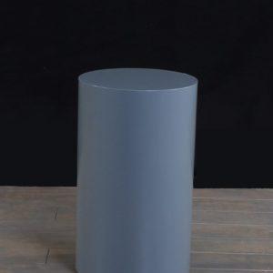 Grey Cylinder Pedestals