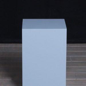 Grey Lacquer Rectangular Pedestals