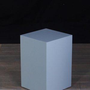 Lacquer Wooden Rectangular Pedestals