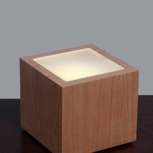 Led Lighted Wood Pedestals
