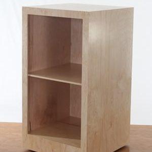 Maple Storage Pedestal