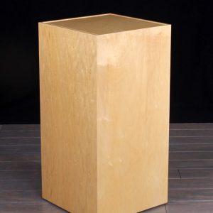 Maple Wood Museum Pedestal Flush Top