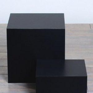 Matte Black Laminate Pedestals