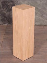 Red Oak Wood Rectangular Pedestals