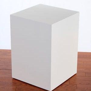 White Lacquer Rectangular Pedestals